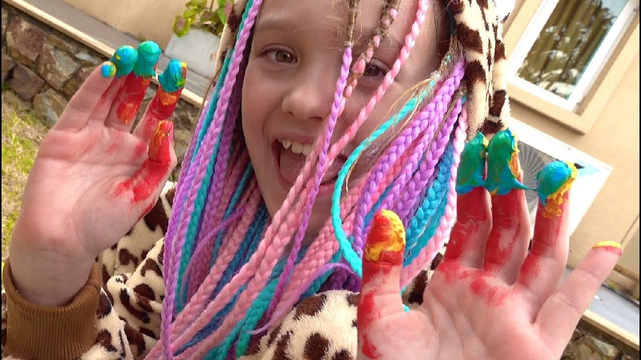 Nastya is having fun playing on the Playground
