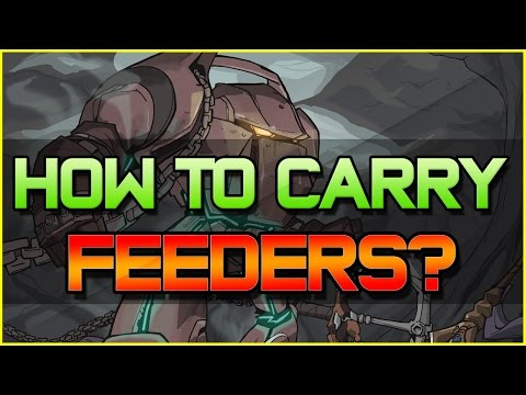 ✔ How to Carry your FEEDING TEAMMATES? | League of Legends | Season 5