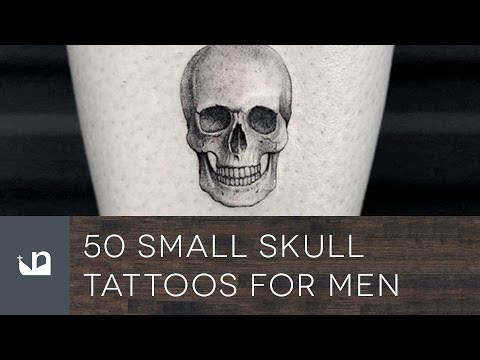 50 Small Skull Tattoos For Men