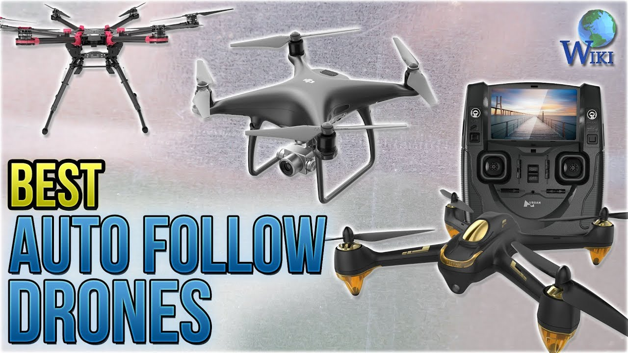 Top 10 Auto Follow Drones of 2019 | Video Review