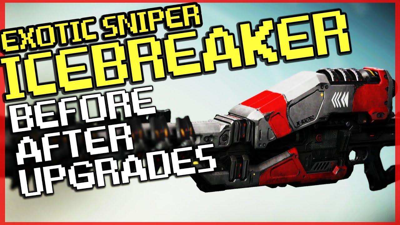 how to get icebreaker sniper destiny
