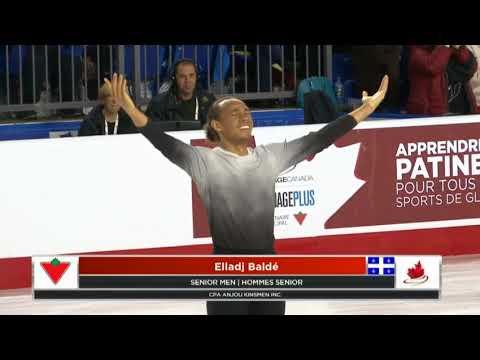 Elladj Balde 2018 Canadian Tire National Skating Championships - SP