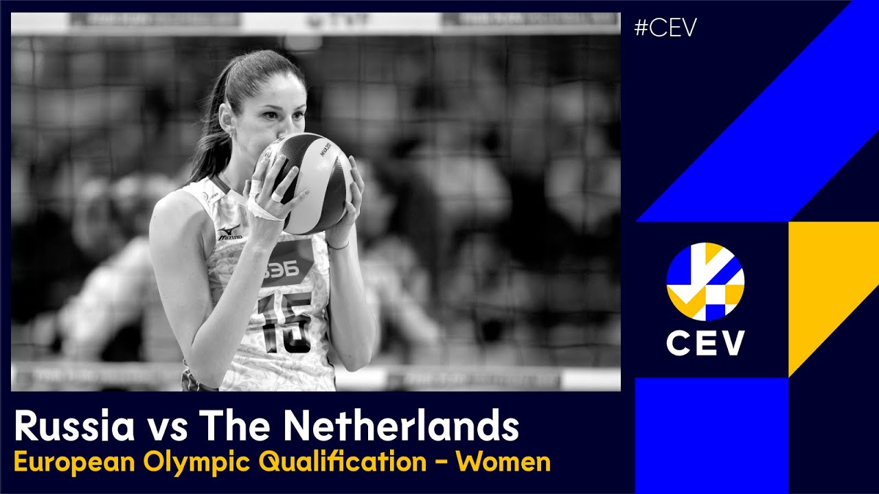 Russia vs The Netherlands FULL MATCH - 2016 European Olympic Qualification Women