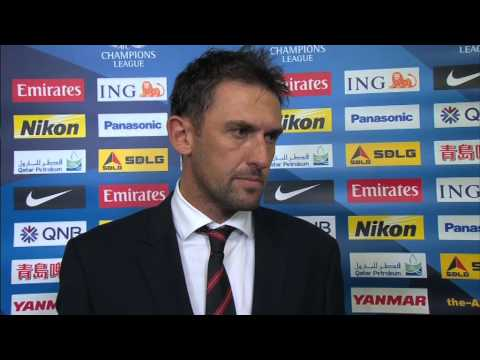 Interview: Tony Popovic, coach - Western Sydney Wanderers: AFC Champions League 2014 (MD3)