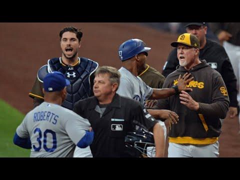 MLB MANAGER ARGUMENTS/FIGHTS