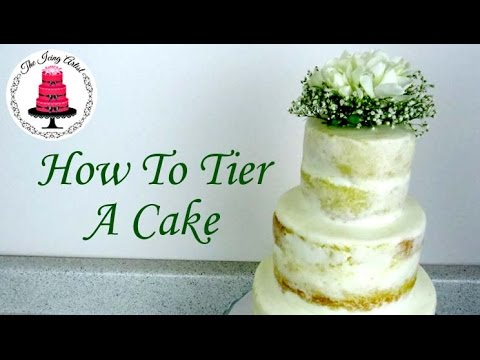 how do i make a 2 tier wedding cake how to make a tiered cake wedding cake how to with 15371