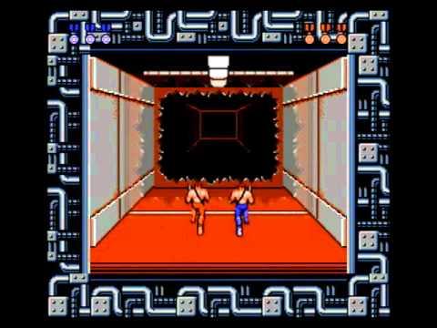 Contra 2 player walkthrough (NES)
