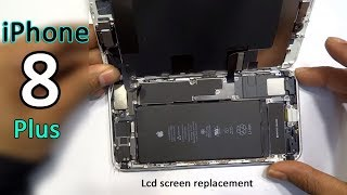 iPhone 8 plus lcd screen replacement full video
