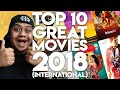 #ZHAFVLOG - DAY 360/365 - TOP 10 GREAT MOVIES 2018 (International) | Malaysia Movie Review