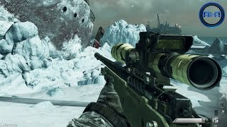 Call of Duty: GHOST Multiplayer - Sniping Gameplay, Vector SMG & Support Killstreaks! (COD Ghosts)