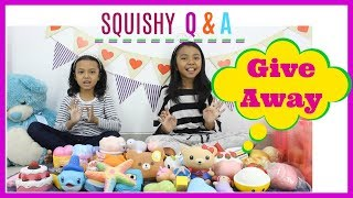[GIVE AWAY SUDAH DITUTUP] SQUSIHY Q N A | Squishy termahal ?