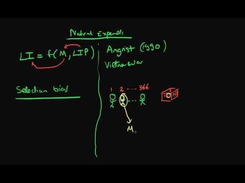 Natural experiments in econometrics