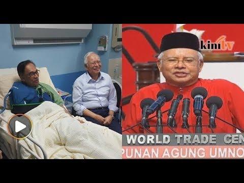 Najib balas pantun pada Anwar