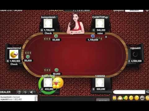 Cara Menang 20jt Ceme Qq Domino Poker Online Cheat Hack 100 Youtube