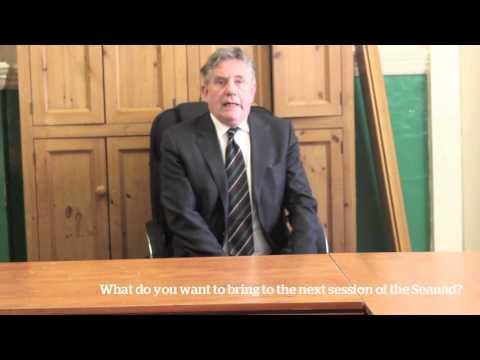 #Seanad16 Trinity News Sean Barrett intervew