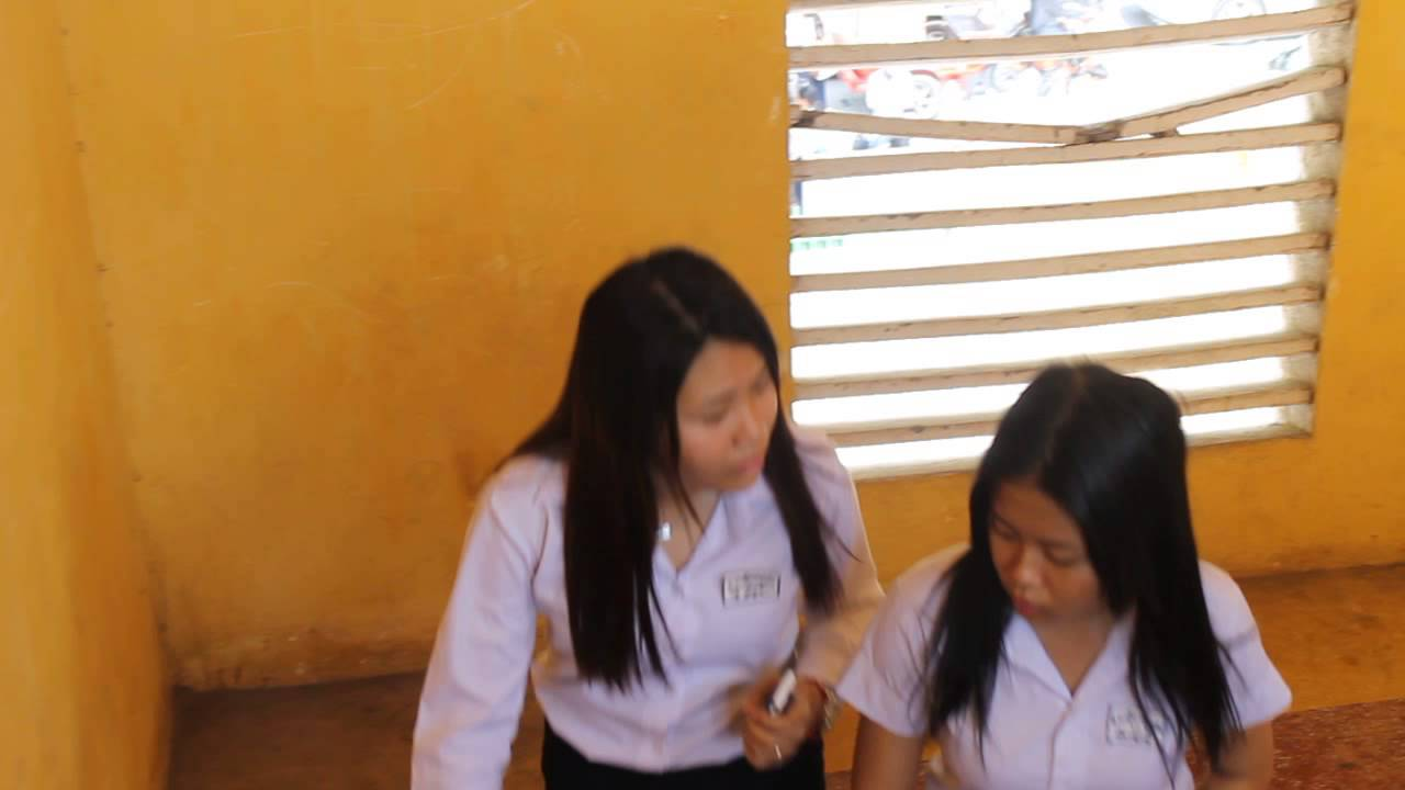 Khmer Student in high school - YouTube