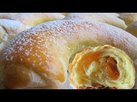 Рижские булочки с повидлом Рецепт пышных булочек