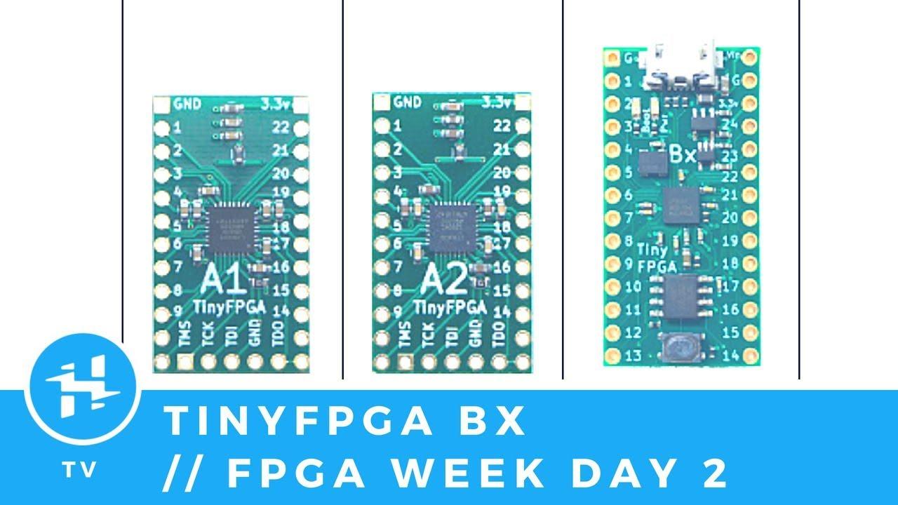 TinyFPGA BX // FPGA Week Day 2