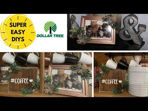 DOLLAR TREE DIY HOME DECOR   SO EASY ANYONE CAN DO IT