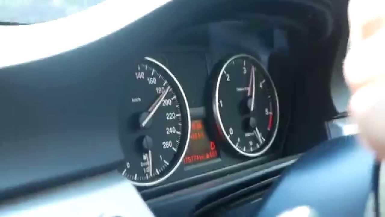 Testing the power lost problem by BMW 320d