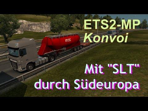 """Mit """"Sachsen Logistik Transport"""" durch Südeuropa"""