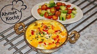 Menemen mit Salat | Ahmet Kocht | türkisch kochen | Folge 311