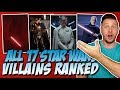 All 17 Star Wars Villains Ranked From Worst to Best
