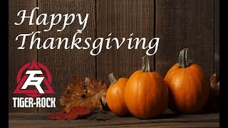 Happy Thanksgiving from Tiger Rock Martial Arts in High Point, Greensboro NC