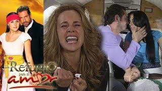 Un refugio para el amor - Capítulo 42: Gala descubre que Rodrigo y Luciana se casaron | Tlnovelas