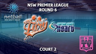 2018 Samsung Premier League Round 6 - U20s/Opens - Court 2 - GWS Fury v Central Coast Heart