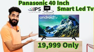 40 inch smart led tv with ips panel Panasonic 40 inch Full HD LED Smart Android TV TH-40HS450DX