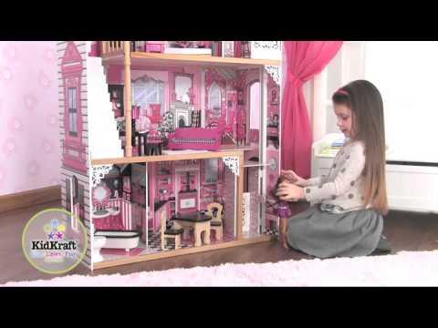 Costruire Una Casa Delle Bambole Di Legno : Kidkraft amelia casa delle bambole youtube