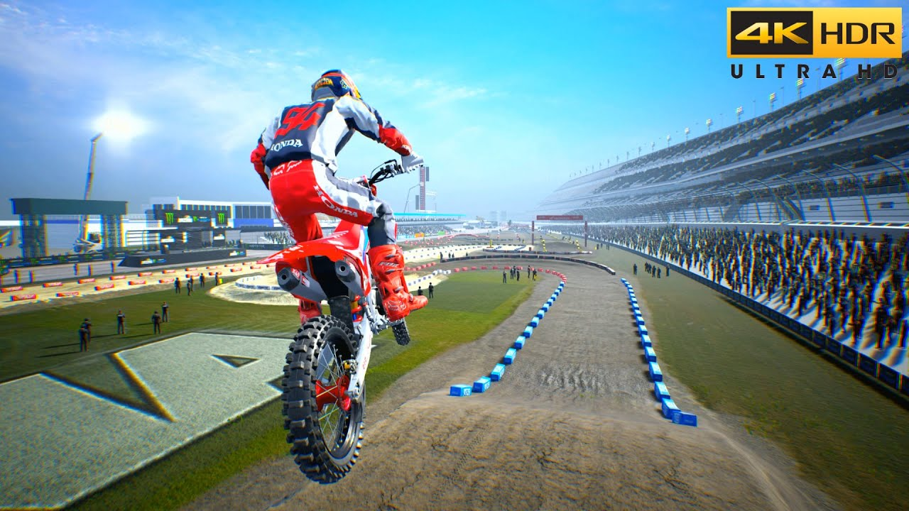 (PS5) Supercross The Game 4 GAMEPLAY   Ultra High Realistic Graphics [4K HDR]
