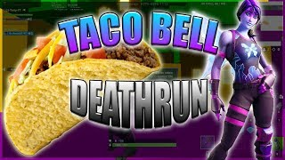 I'm finishing the Taco Bell Deathrun on Fortnite! [CODE]