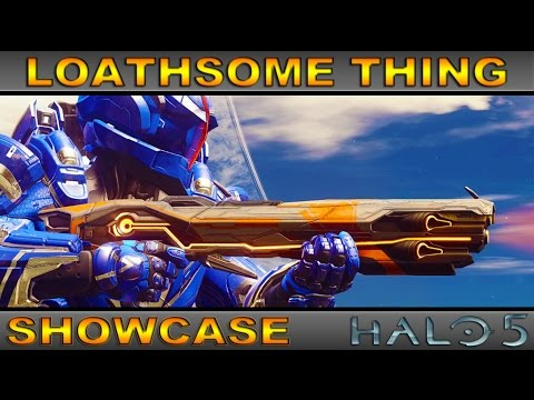 Loathsome Thing - Ultra Rare Weapon Showcase - Halo 5 Guardians