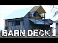 Barn Deck pt. 1 - The Conception and Breaking Ground