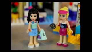 Stephanie & Emma's Day at the Mall - A Lego Friends Stop Motion Movie