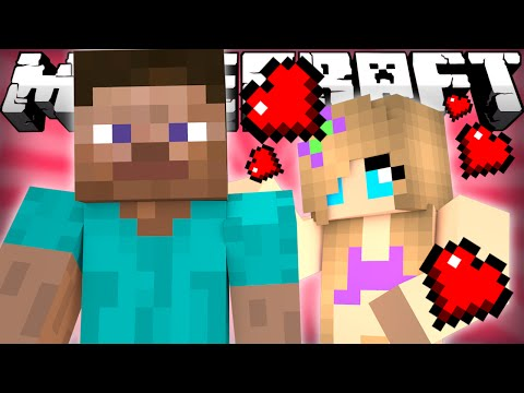 Thumbnail: Minecraft - STEVE GETS A GIRLFRIEND?
