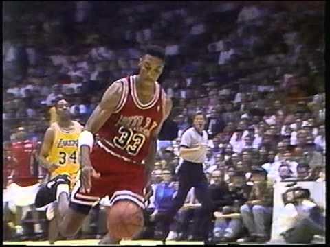 1990 - 1991 CHICAGO BULLS NBA PLAYOFFS 20TH YEAR ANNIVERSARY NBA FINALS #3