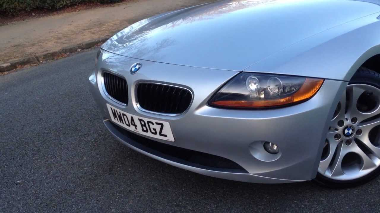 2004 Bmw Z4 2 5i Manual Roadster Walk Around For Sale
