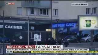 Kidnapper & Hostages Killed In Raid On Paris Kosher Supermarket