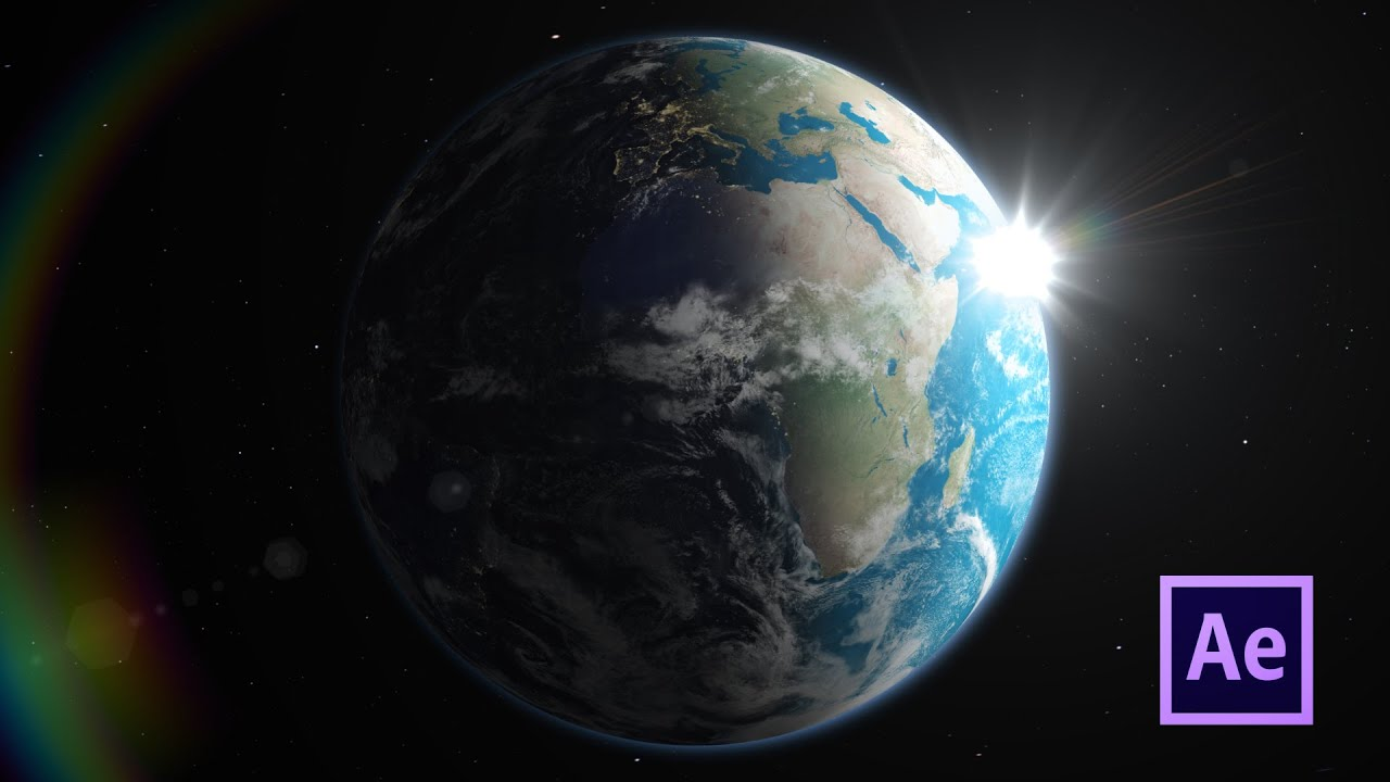 3d Earth Day To Night