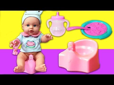 YENİ Boubou Oyuncak Bebek | Bebek Bakma Oyunu | EvcilikTV