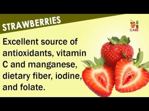 Fruits & Vegetables Health Benefits | Health Care Tips | Health and Beauty Care
