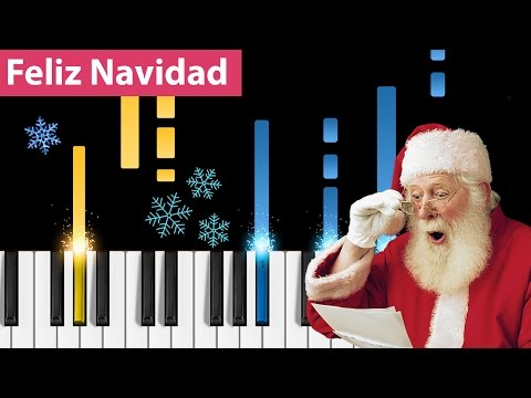 Feliz Navidad - Piano Tutorial - How to play Feliz Navidad on piano