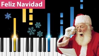 Feliz Navidad Piano Tutorial - How to play Feliz Navidad on piano.mp3