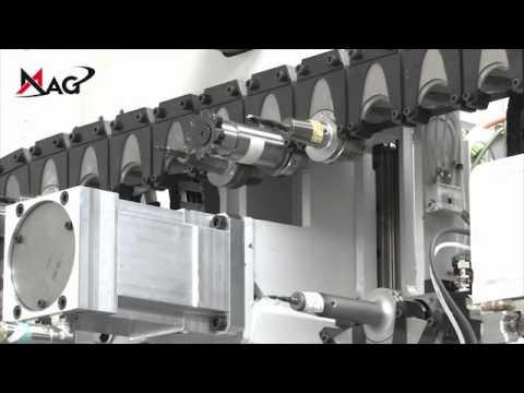 Bearbeitungszentrum Systemmaschine Doppelspindler SPECHT 450 DUO
