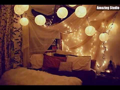 Cool Dorm Canopy Bed Lighting Ideas