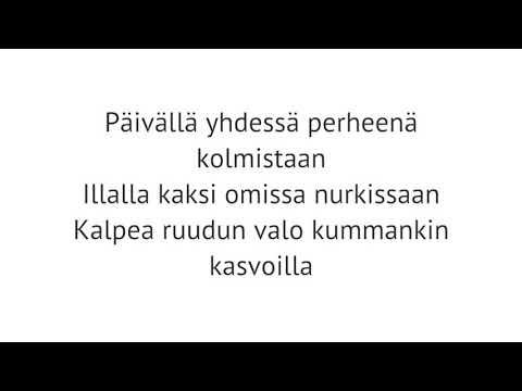 Anna Puu - Kolme pientä sanaa, Instrumental guitar cover/Karaoke