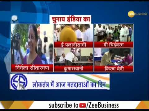 Lok Sabha election 2019: Top politicians cast their votes for second phase